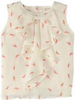 Appaman Cascade Bow Blouse (Toddler/Kid) - Birds-7