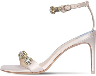 Sophia Webster 85mm Aaliyah Embellished Satin Sandals