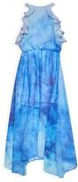 Marchesa Mini Little Girl's & Girl's Ainsley Ruffle Dotted Dress