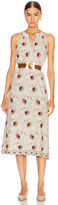 Natalie Martin Marlien Maxi Dress in Vintage Flowers Apricot | FWRD