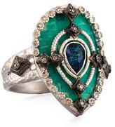 Armenta New World Mosaic Pear Ring