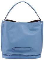 Longchamp 3D Leather Hobo Bag