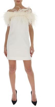 Saint Laurent Off The Shoulder Dress