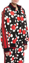 Marc Jacobs Daisy Zip-Front Track Jacket
