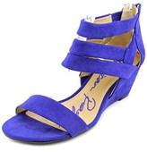 American Rag Casen Women Open Toe Synthetic Blue Wedge Sandal.