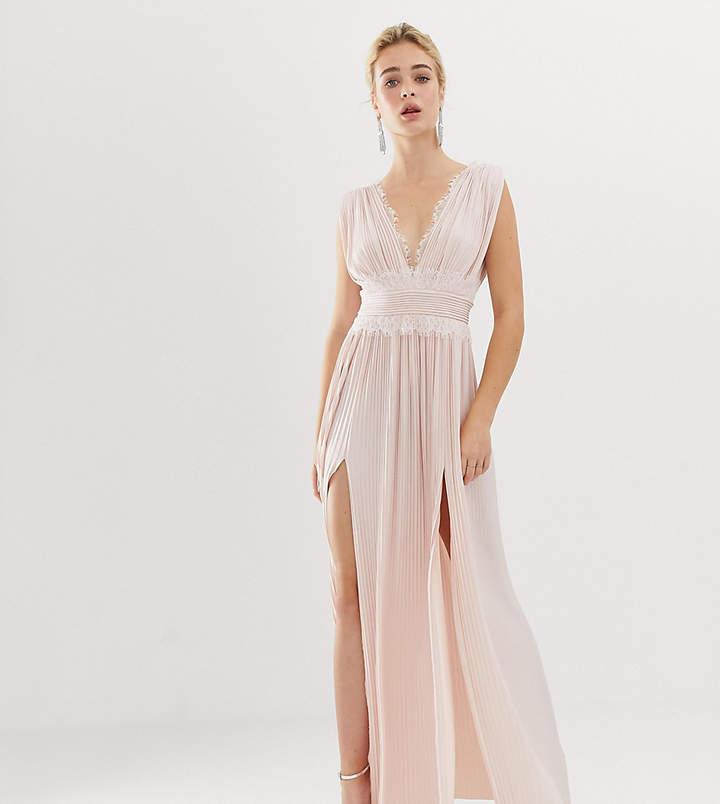 80c0a9e60c Asos Pink Lace Dresses - ShopStyle UK
