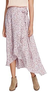 1 STATE Wildflower Vines Wrap Skirt