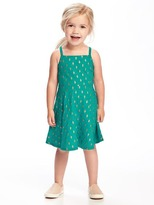 Old Navy Fit & Flare Cami Dress for Toddler Girls
