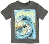 Finger In The Nose Stormsurfer Print Cotton Jersey T-Shirt