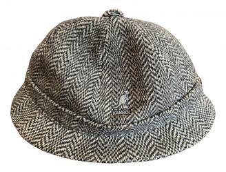 Kangol Black Wool Hats