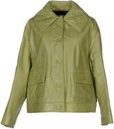 GRIFFES DIFFUSION Leather outerwear