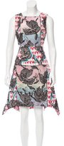 Peter Pilotto Embroidered Crescent Dress