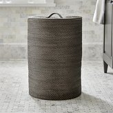 Crate & Barrel Sedona Grey Hamper