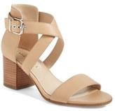 Via Spiga Women's 'Jobina' Crisscross Strap Block Heel Sandal