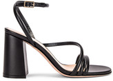 Gianvito Rossi Ankle Strap Sandals in Black | FWRD