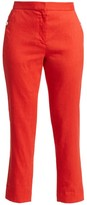 Rag & Bone Poppy Linen-Blend Crop Trousers