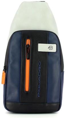 Piquadro Mens Blue Crossbody Bag