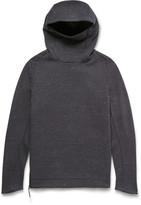 Nike Funnel-Neck Cotton-Blend Tech Fleece Hoodie