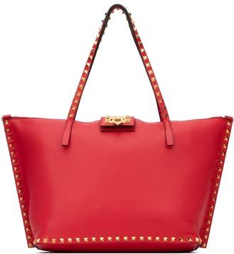 Valentino Rockstud Top Handle Tote Bag