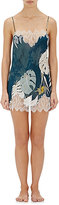 "Carine Gilson Women's ""Decollete"" Chemise-BLUE, NO COLOR"