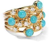 Ippolita Turquoise & Diamond Constellation Ring