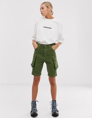 House of Holland Safari Mid Length Shorts