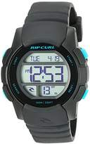 Rip Curl Women's 'Mission Girls Digital' Quartz Plastic and Polyurethane Sport Watch