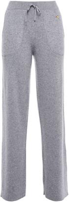 Bella Freud Metallic Striped Cashmere-blend Track Pants