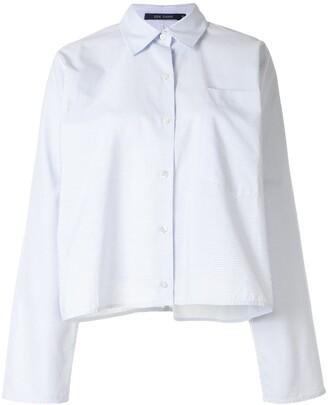 Sofie D'hoore Pinstripe Patch-Pocket Shirt