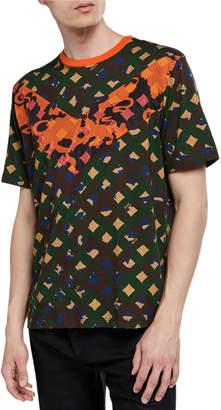 MCM Men's Camo Chevron-V T-Shirt