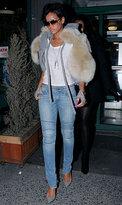 Vintage1 Motorcycle Skinny Jean - as seen on Rihanna in Blue Exhaust