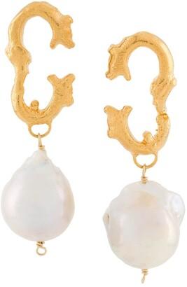 Alighieri Poet's Muse earrings