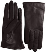 Lord & Taylor Cashmere-Lined Leather Gloves