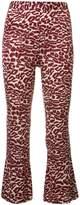 Piamita printed cropped trousers