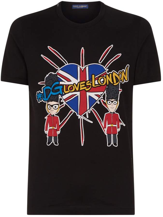 Dolce & Gabbana Loves London T-Shirt