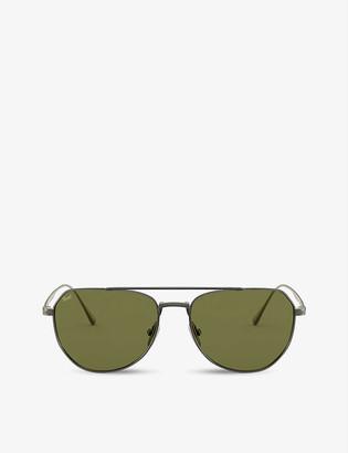 Persol PO5003ST Titanium titanium and crystal sunglasses