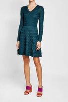 M Missoni Knit Dress with Wool