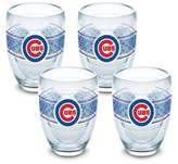 Tervis MLB Chicago Cubs Select 9 oz. Stemless Wine Glasses (Set of 4)