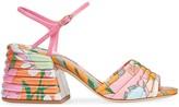Fendi Promenade floral print sandals