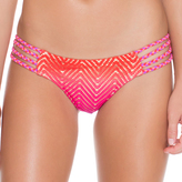 Luli Fama Braided Lo-Rise Hipster Bottom In Multicolor (L49757B)