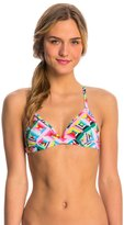 Funkita Women's Pastel Party Tri Swim Top 8137555