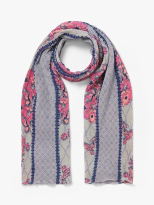 Unmade Atika Textured Floral Scarf