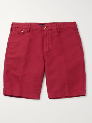 Incotex Slim-Fit Chinolino Bermuda Shorts