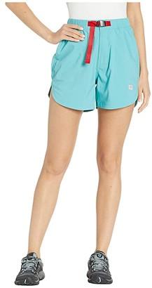 Topo Designs River Shorts (Glacier) Women's Shorts