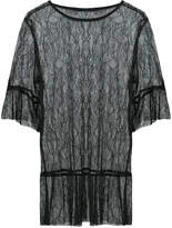 Anna Sui lace sheer blouse