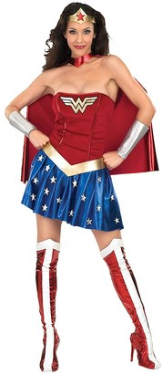 Rubie's Costume Co Rubie's Women's Costume Outfits - Wonder Woman Caped Costume Set - Women