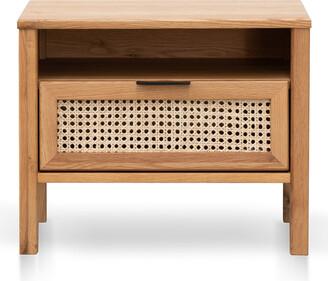 Calibre Furniture Chesterton Bedside Table Natural
