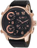 "JBW Men's J6248LG ""G4"" Multi-Time Zone Lifestyle Diamond Watch"