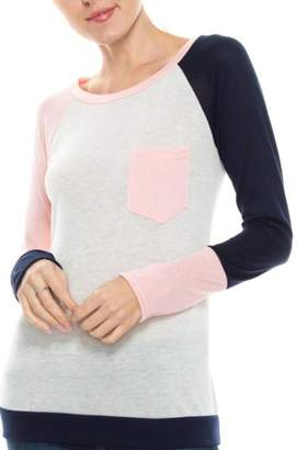 Twenty Second Colorblock Knit Top