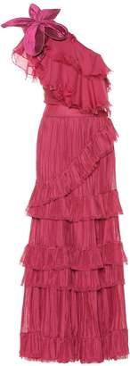 Johanna Ortiz God Of The Night silk gown